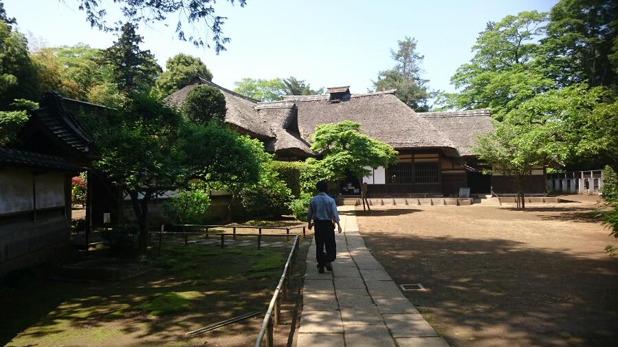 茨城県の敷地の広い古民家