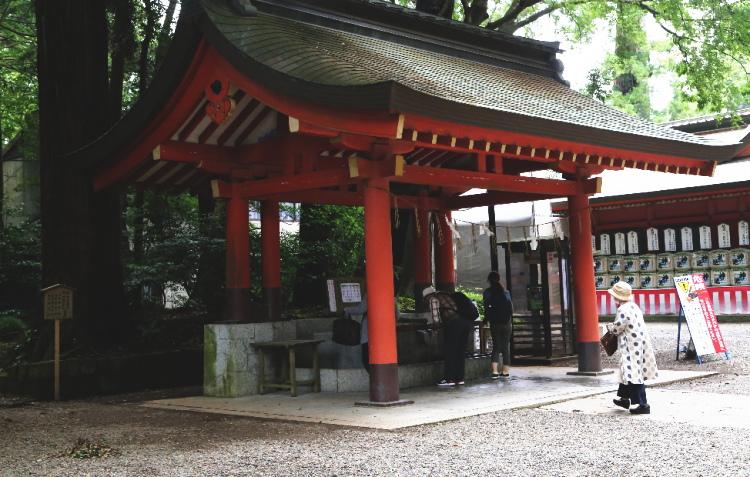 鹿島神宮の手水舎