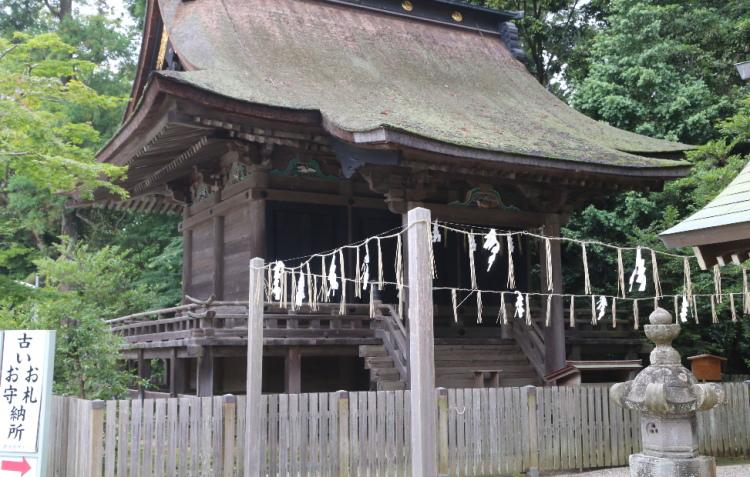 鹿島神宮の修復のときに使う仮殿
