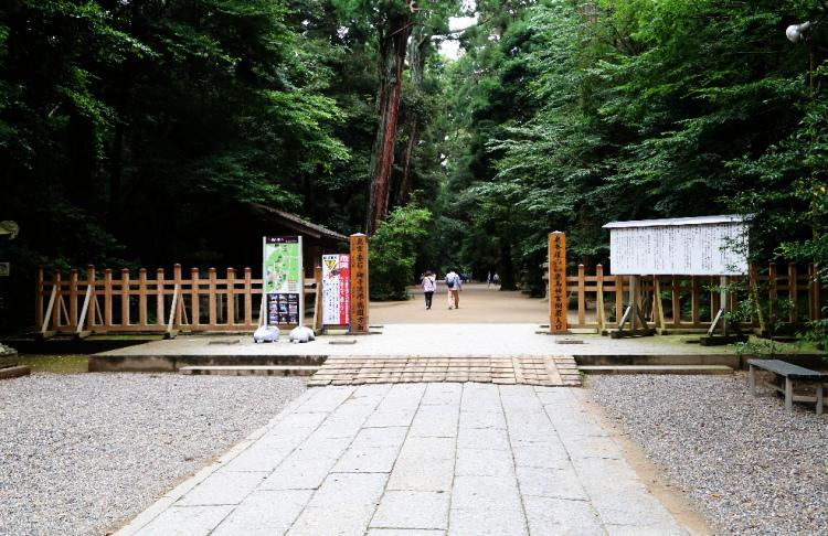奥参道の入口