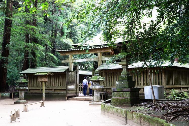 鹿島神宮の荒魂をまつる奥宮