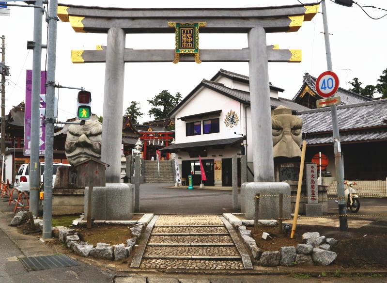 大杉神社の一の鳥居