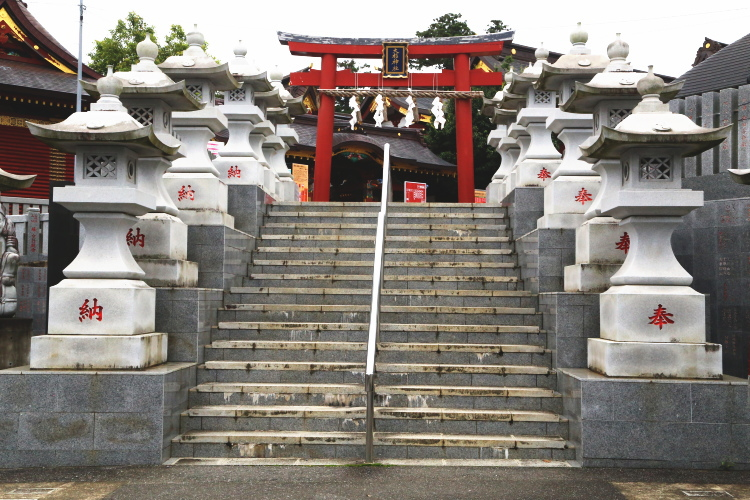 大杉神社の二の鳥居