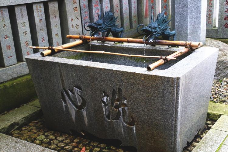 大杉神社の手水舎