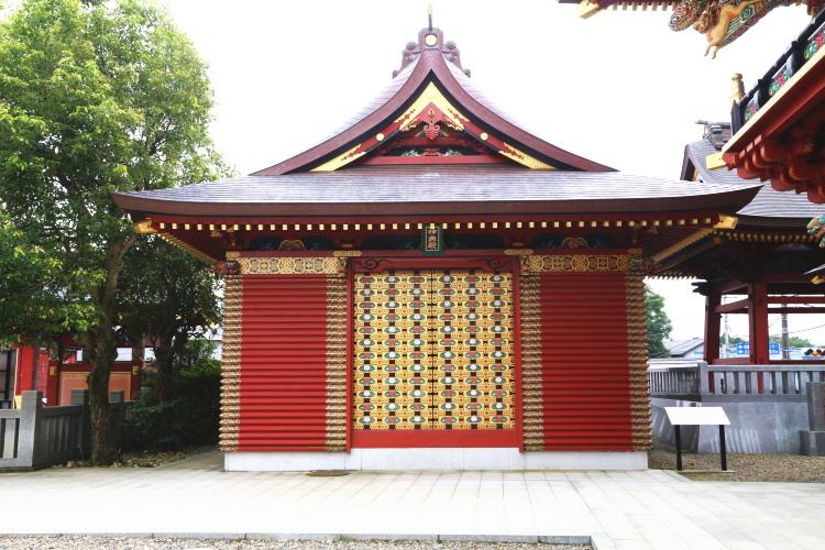 大杉神社の神輿殿