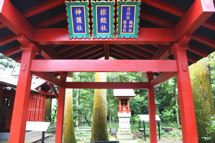 大杉神社の境内社