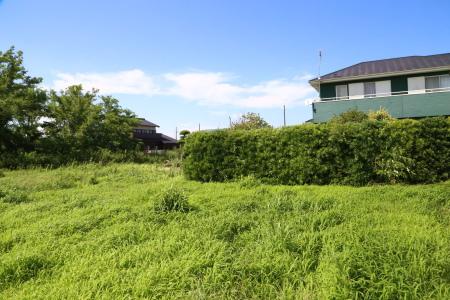敷地面積の広い茨城県にある住宅