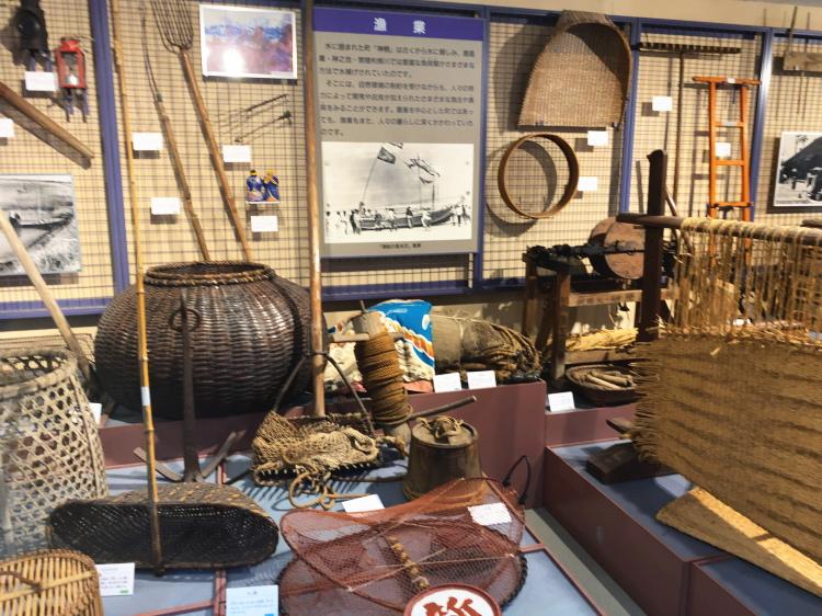 漁に使う古い道具