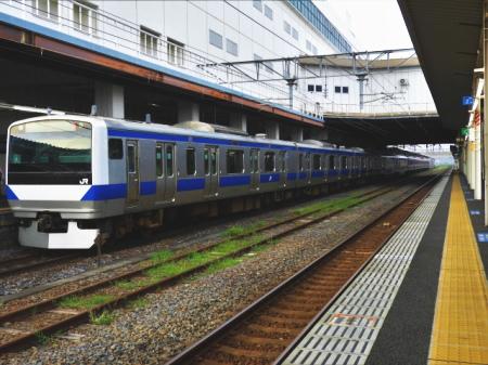 常磐線の土浦駅