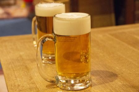 ジョッキの生ビール