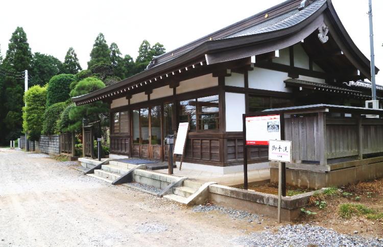 女化神社の社務所