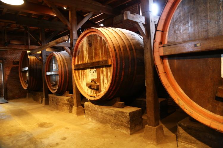 神谷傳兵衛記念館の発酵樽