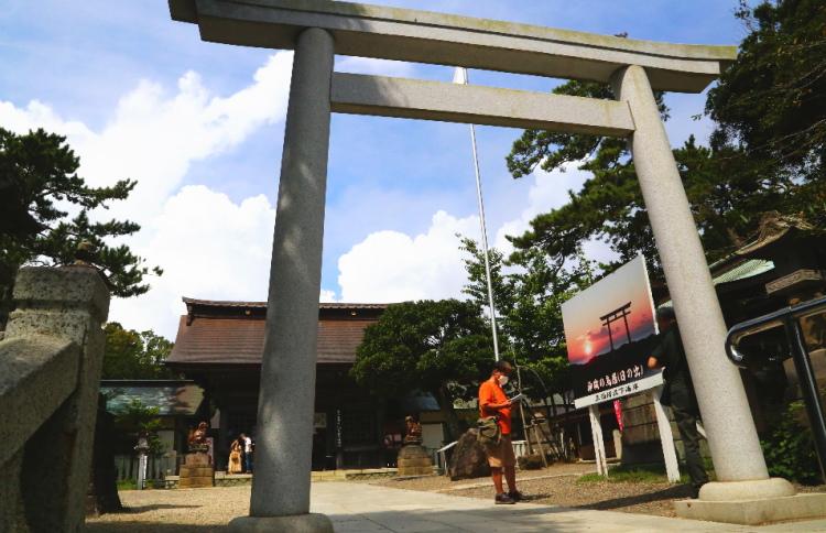 大洗磯前神社の三の鳥居