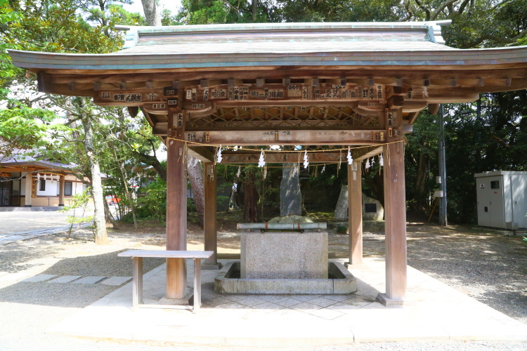 大洗磯前神社の手水舎