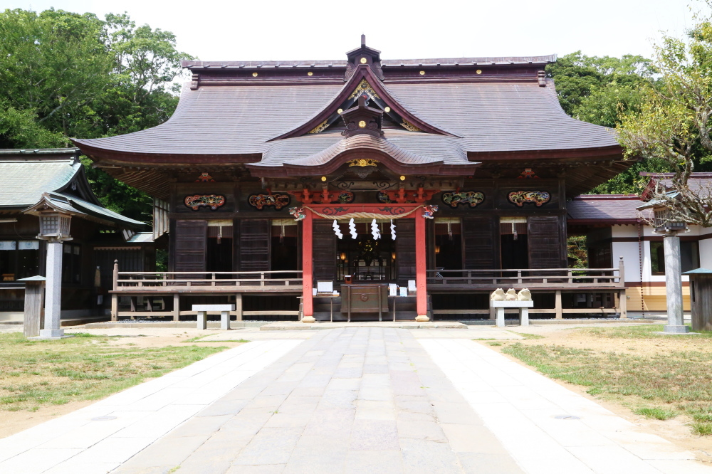 大洗磯前神社の社殿