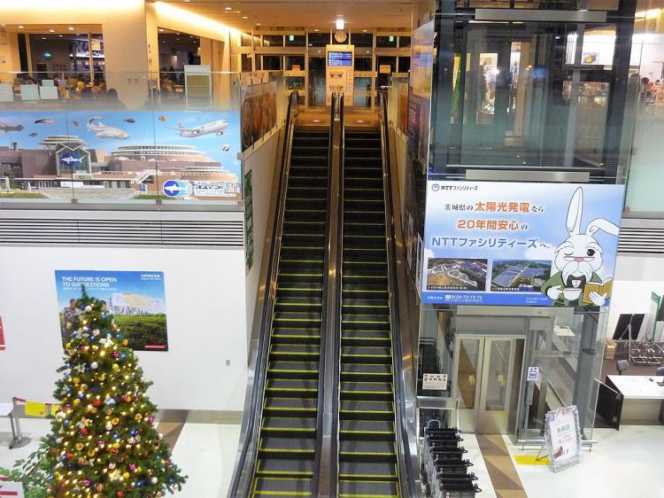 ドラマの撮影によく使われる茨城空港