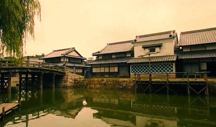 ワープステーション江戸の中の風景