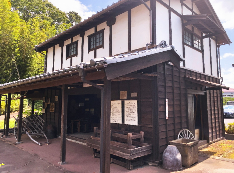 龍ヶ崎市歴史民俗資料館にある農家の納屋