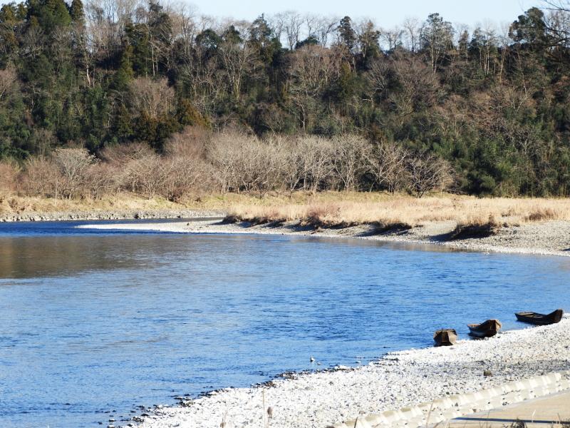 茨城県の河川敷