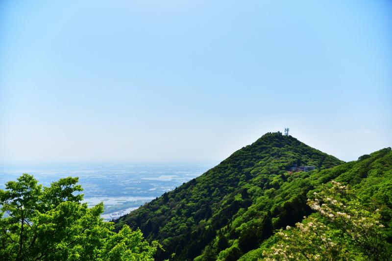 筑波山の山頂付近