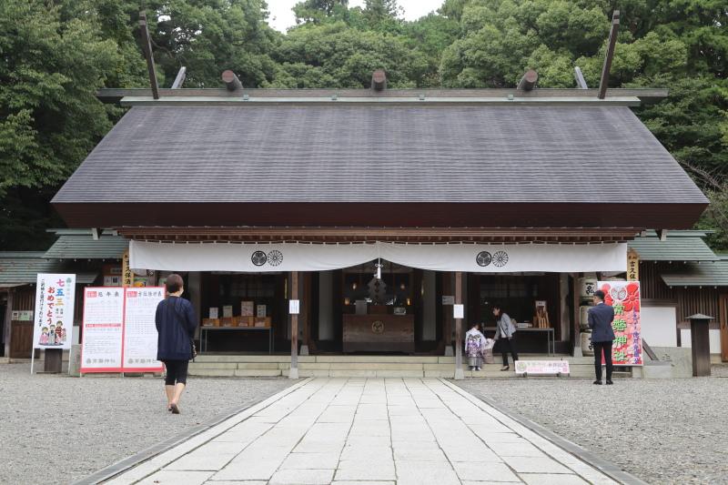 常盤神社の社殿