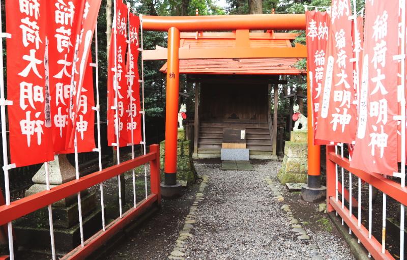常盤稲荷神社の社殿