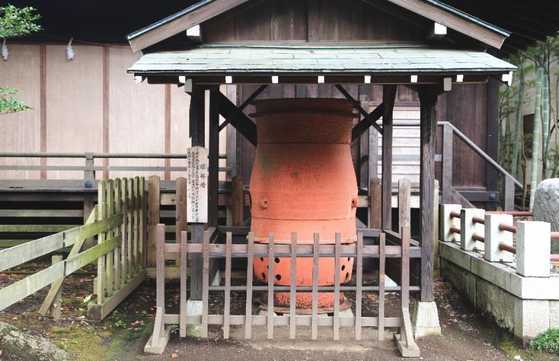 徳川斉昭が大砲を鋳造した溶解炉