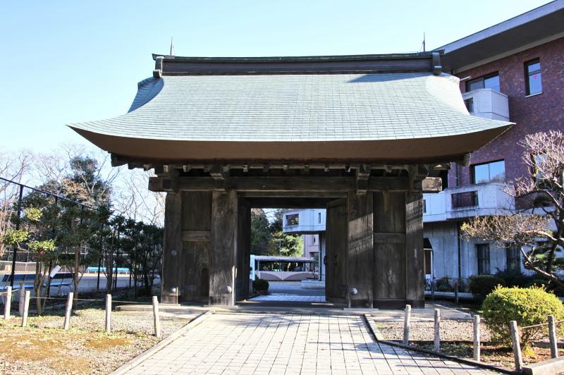 水戸城址にある橋詰門