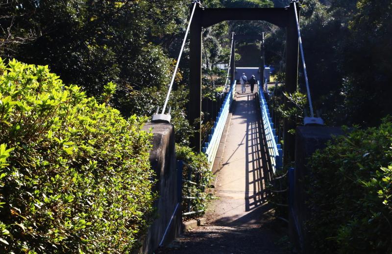 大野潮騒はまなす公園にある長寿橋