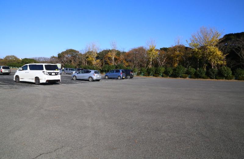 大野潮騒はまなす公園の駐車場