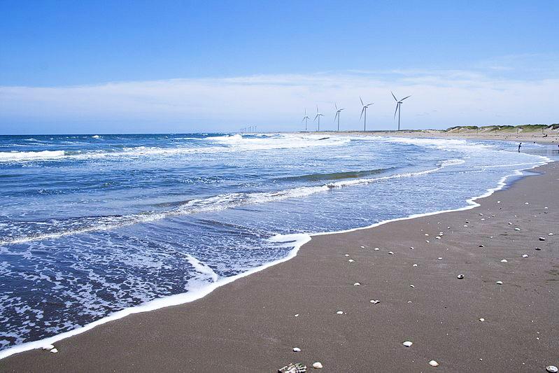 神栖市の日川浜海岸