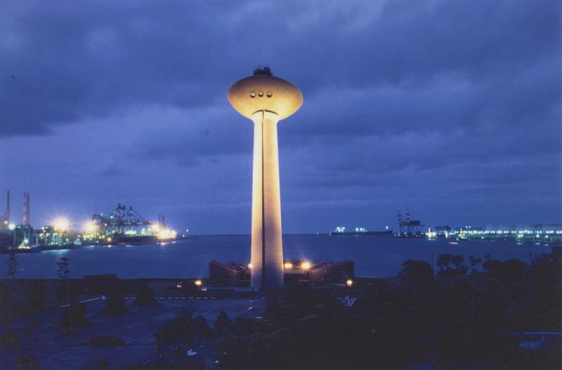 神栖市港公園にある展望塔