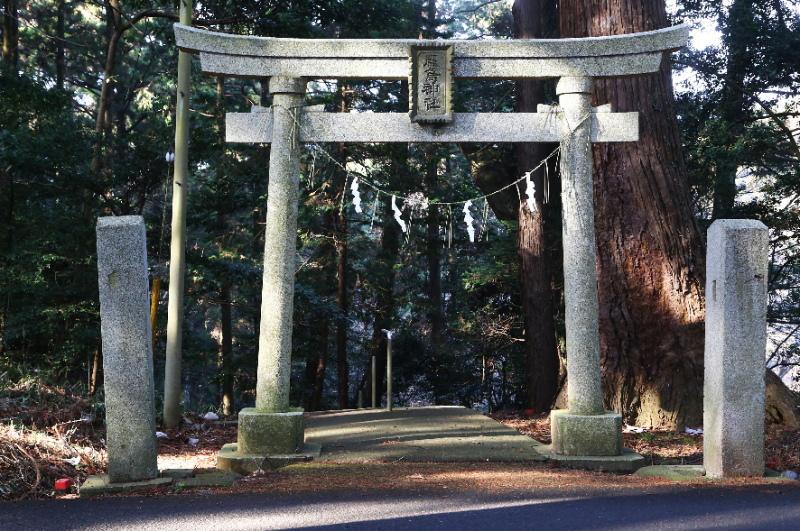 厳島神社の三の鳥居
