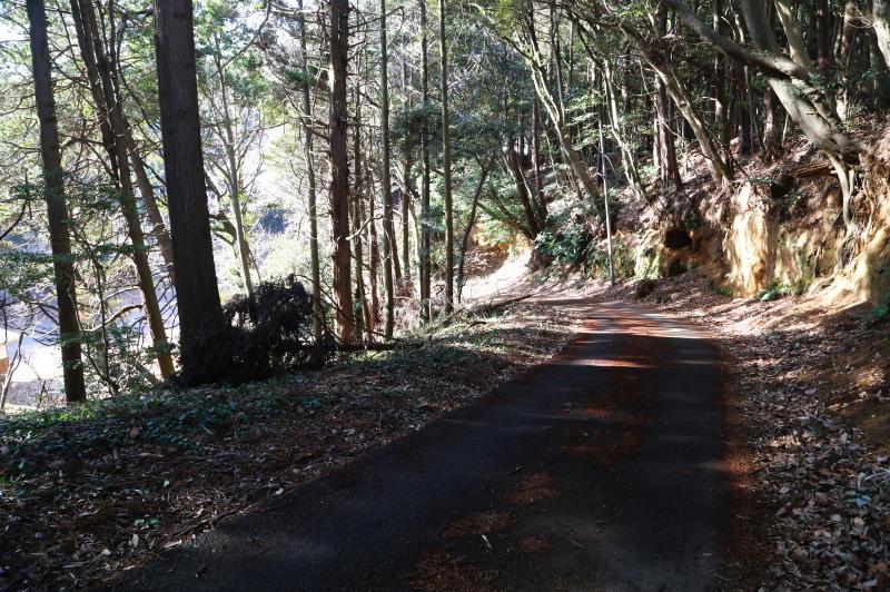 厳島神社の裏参道
