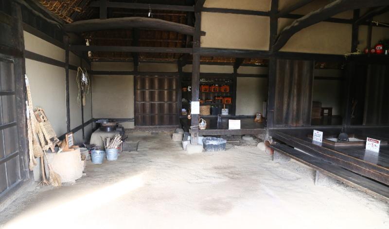 旧土肥家の内部