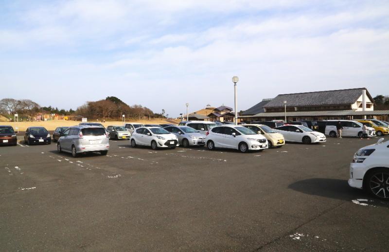 鹿島灘海浜公園の駐車場