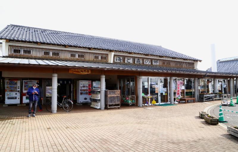 鹿島灘海浜公園の売店