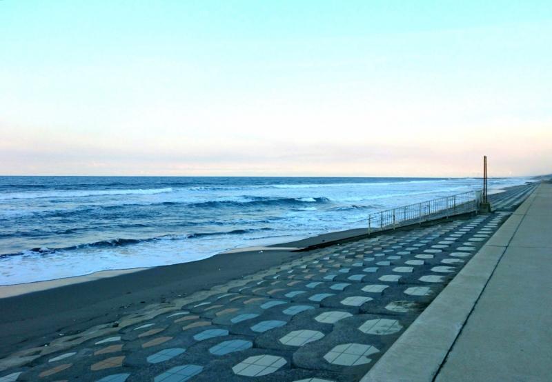 茨城県鉾田市の大竹海岸